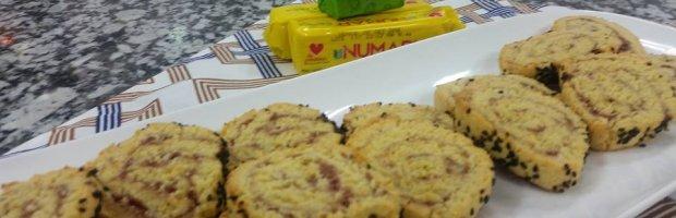 galletas de pate y queso